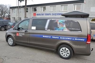 NOWY BUS DLA WTZ BRZESKO W RAMACH DOFINANSOWANIA Z PFRON-U