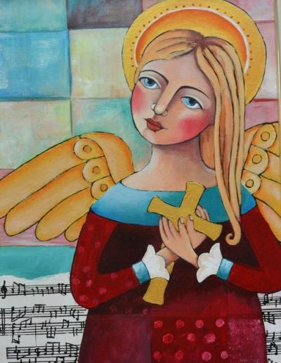 Obrazy malowane farbami akrylowymi 3