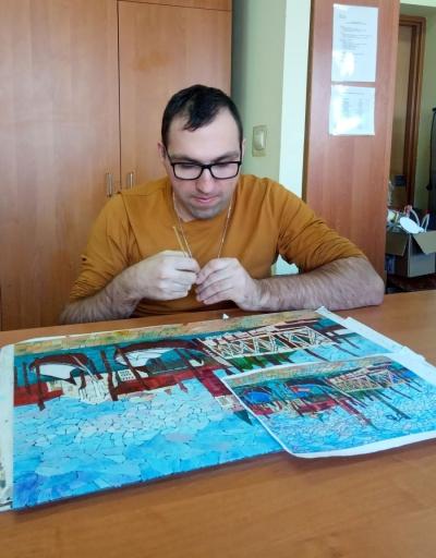 pracownia rysunku na szkle i witrażu 4