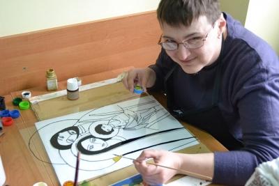 Pracownia rysunku na szkle i witrażu 6
