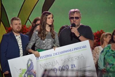 14 FESTIWAL ZACZAROWANEJ PIOSENKI, PIOTR MAJEWSKI W DUECIE Z HANNĄ BANASZAK 55