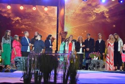 14 FESTIWAL ZACZAROWANEJ PIOSENKI, PIOTR MAJEWSKI W DUECIE Z HANNĄ BANASZAK 49