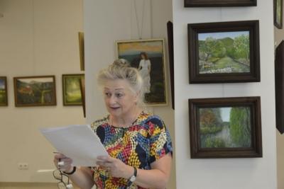 """""""Świat Anny pędzlem malowany""""- wystawa malarstwa Anny Gaudnik 5"""