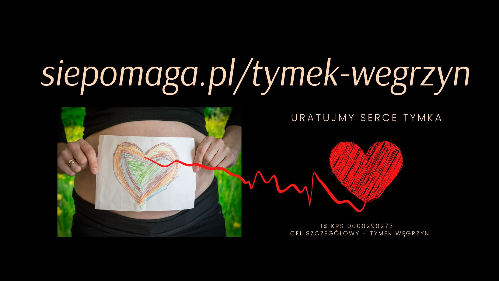 Uratujmy serce Tymka